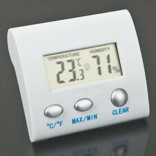 LCD Digital Thermometer Hygrometer Humidity Temperature Meter Indoor HomeLN