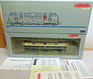 Märklin H0 3681 Locomotora Diésel Br 221 118-3 El DB Digital Cambio de Luz Rojo