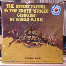 [SOUNDS/ODDITIES]~NM LP~The DESERT PATROL IN The NORTH AFRICAN CAMPAIGN OF WWII