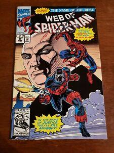 Web of Spider-Man #89 (Jun 1992, Marvel)  Alex Saviuk Art!