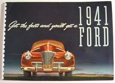 1941 Ford Original Dealer Album Cars Trucks Bus Woody Xlnt