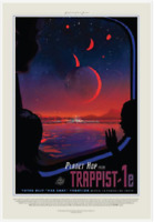 Nice NASA Visions of the Future Trappist Poster