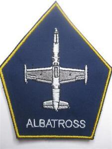 U.S. AIR FORCE PATCH L-39 ALBATROSS JET KLETT AUFNÄHER LUFTWAFFE NEU
