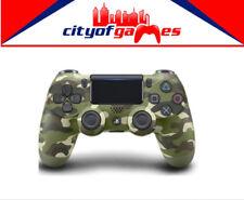 Genuine Sony PS4 DualShock 4 Green Camo Wireless Controller New