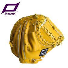 "PHALANX 34"" Silver Catcher pro 2-pcs closed web baseball gloves right hand throw"