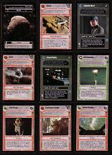 STAR WARS CCG Dagobah Uncommon BB Cards 1997 Decipher SWCCG TCG
