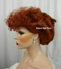 Lucy Wig .. I LOVE LUCY!  Gibson Girl style wig.  Great for Halloween or Theatre