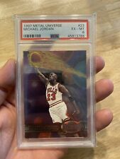 Michael Jordan Metal Universe PSA 6 Card #23 Last Dance Chicago Bulls 1997 NR
