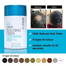 Biothik Hair Growth 11 colors Keratin Hair Building Fiber Protein Styling 0.5oz