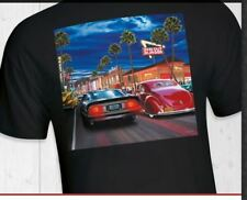 In-N-Out Burger T-Shirt... California 2018 HOLLYWOOD CRUISING BLACK Short Sleeve
