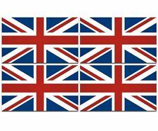 "4 - 3""x1.5"" Great Britain union jack UK British vinyl sticker united kingdom"