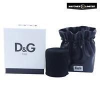 BRAND NEW AUTHENTIC D&G DOLCE GABBANA WATCH BOX & BRACELET JEWELLERY POUCH
