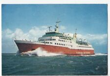 Thoresen Southampton - Cherbourg Ferry, 'Viking' PPC by Dixon, c 1970's Unposted