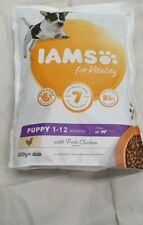 Iams Senior Dog Food for Vitality Chicken Flavour 1.12 moths 2×800g
