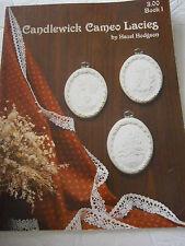 Vtg 1998 Candlewick Cameo Lacies Cross Stitch Pattern Book 1 Ornament Tree Angel