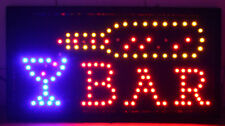 """FLASHING LED """"BAR"""" SIGN WITH DIFFERENT MODES **UK SELLER**"""