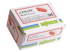 Wago 773-173 3 vie Push Fit Terminale Connettore Box Completo di 50