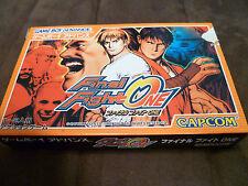 FINAL FIGHT ONE JPN GBA complete uncensored US SELLER Japan Game Boy Advance
