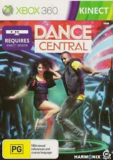 XBOX 360 DANCE CENTRAL KINECT GAME COMPLETE