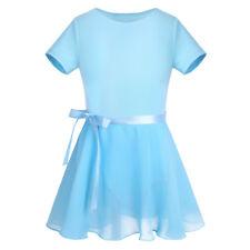 Ballettkleid Mädchen Kurzarm Ballett Trikot Ballettanzug Kinder Ballettkleidung