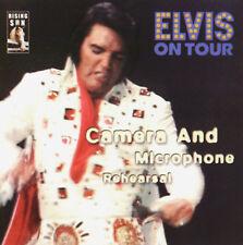 RARE CD IMPORT ELVIS PRESLEY- ELVIS ON TOUR -CAMERA & MICROPHONE REHEARSAL