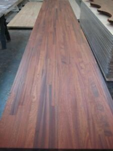 UP TO 10%OFF REAL SOLID RED WOOD KITCHEN WORKTOP SAPELE, MAHOGANY GREAT QUALITY