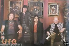 """UFO """"GROUP BY OLD PAINTINGS"""" POSTER FROM ASIA-New Wave Of U.K. Heavy Metal Music"""