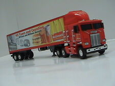 Matchbox Mc Donald's 45th Anniversary Freightliner Tractor Trailer