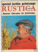 RUSTICA 1967  MAURICE CHEVALIER