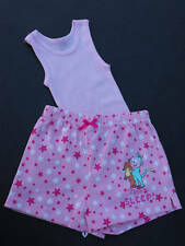 BNWOT Girls Sz 2 Dora The Explorer PJ Pyjamas Shorts & Pink Stretch Single Top