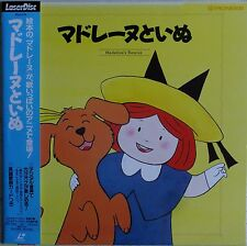 MADELINE'S RESCUE Laserdisc Madeline Mega Rare Cartoon Japan LD OBI