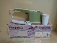 Osrow Steamstress 1973 Vintage Sb15 Fabric Steam Iron Original Packaging!