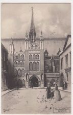 London, The Guild Hall, Ettlinger Jotter Art Postcard, B722