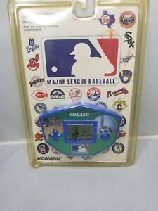 VINTAGE KONAMI MLB MAJOR LEAGUE BASEBALL HAND HELD GAME in Package
