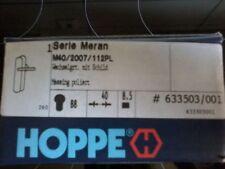 HOPPE Langschild-Wechsel-Garnitur mit Schild Meran Messing Neu