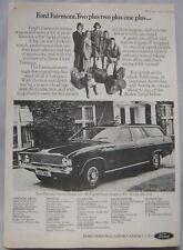 1973 Ford Fairmont Original advert No.1