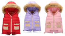 Unbranded Girls' Faux Fur Casual Coats, Jackets & Snowsuits (2-16 Years)