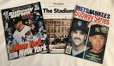 MLB Baseball World Series METS YANKEES SUBWAY SERIES 2000 Collectible Magazines