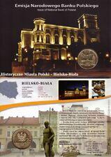 ■■■ Poland 2008 2 Zlote Polish Cities BIELSKO-BIAŁA in Blister UNC ■■■