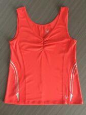 VIRTU Active Orange Fitness Sports Tank Top - Size S
