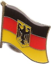 Lot Of 3 Germany Flag Lapel Pins - Germany Eagle Flag Pin