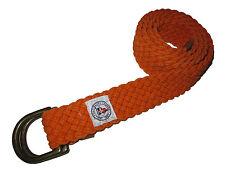 Polo Ralph Lauren Orange Ocean Rescue Rope D Ring Braided Belt Medium M