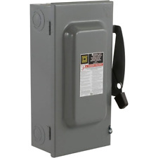 Outdoor 100 Amp 240 Volt 2 Pole Fused General Duty Safety Switch 120240 Volt Ac