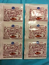 Lot of 2 - Kroger Active Dry Yeast 2 Strips of 3