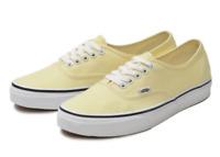 Vans Men's UA Authentic Sneakers, Vanilla Custard/ True White