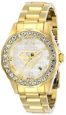 Invicta 29307 DC Comics Lady 38mm Stainless Steel Gold White Dial Watch