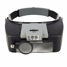 Beileishi Magnifying Glass Head Magnifier With Led Lights,1.5x 3 x 8.5x 10x