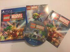 Playstation 4 PS4 Lego Videospiel/Game: Lego Marvel Super Heroes/UK PAL R2