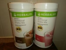 Herbalife - 2x  Formula 1 shakes,Dutch Chocolate and Berry flavour
