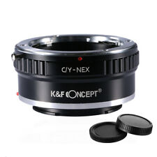 K&F Concept adapter for Contax Yashica mount lens to Sony E mount NEX a5000 A7II